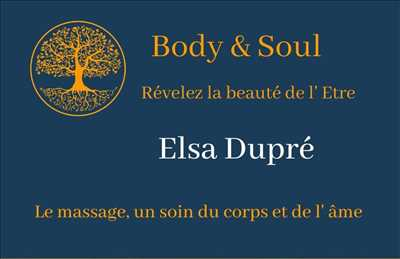 Exemple massage n°1821 zone Haute-Garonne par BODY & SOUL