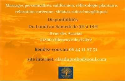 Photo massage n°1822 à Saint-Gaudens par BODY & SOUL