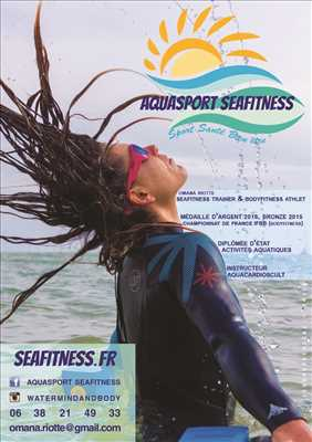 Exemple coach sportif n°2057 zone Finistère par Seafitness Aquasport Yoga